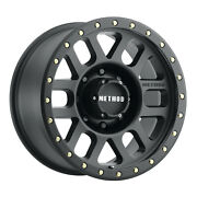 17x8.5 Method Mr309 Grid 33 Fuel At Wheel Tire Package 8x180 Chevy 2500 Hd Tpms
