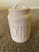 M Stamped Rae Dunn Coffee Canister