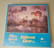 Sunsout 1500 Piece Jigsaw Puzzle 33 X 24 Balloon Glow By Nickey Boehme New