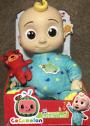 Cocomelon Jj Doll Plush Musical Bedtime 10 Soft Toy And Bear Netflix New In Box