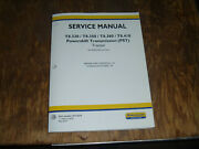 New Holland T8.380 T8.410 Tractor Pst Brakes Hydraulic Service Repair Manual
