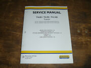 New Holland T4.85 T4.95 T4.105 Tractor Hydraulic Brakes Service Repair Manual