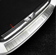 Silver Rear Trunk Protectors Sill Guard Trim For Toyota Fortuner An160 2016-2020