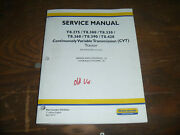 New Holland T8.275 T8.300 T8.330 Tractor Hydraulic Brakes Service Repair Manual