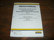 New Holland T4.105 T4.115 Tractor Hydraulic Brakes Shop Service Repair Manual