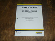 New Holland T5.110 T5.120 Tractor Steering Wheels Cab Shop Service Repair Manual