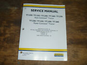 New Holland T7.250 T7.260 T7.270 Tractor Steer Wheels Shop Service Repair Manual