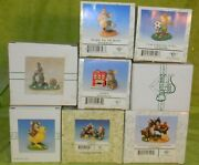 Fitz And Floyd Charming Tails Headin' For The Beach, Friendship Is Always Lot Of 8