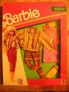 1990 Nos New Old Stock In Box Vintage Toy Doll Clothes Barbie Fashion Clothing