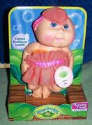 Cabbage Patch Kids Scrubby Time Tiny Newborn Doll 10 Leona Ann May 19th New