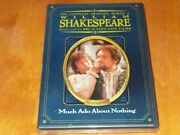 Much Ado About Nothing William Shakespeare Time Life Bbc Region 1 Dvd New