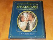 The Tempest William Shakespeare Time Life Bbc Shakespeare's Region 1 Dvd New