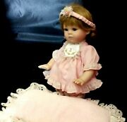 Porcelain Kneeleng Collectible Doll Kelsey Georgetown By Joyce R 1995