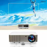 Lcd Hd Home Theater Projector 1080p 4600 Lumen Digital Tv Projector Movies
