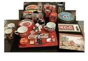 Huge Coca Cola Collection, 38 Piece Collection, Assorted Collectibles