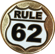 Gold Plated Rule 62 Color Donand039t Take Yourself Too Damn Serious Aa Chip Sobriety