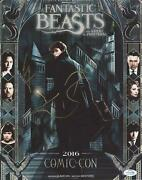 Fantastic Beasts And Where To Find Them Cast Autograph Signed 11x14 Photo C