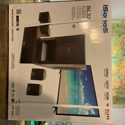 Isonos Sl 32 Home Theater. Sound Speakers And Wireless Subwoofer. Hdmi Compatiable