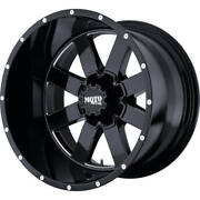 Cust 4 - 20x12 Black Moto Metal Mo962 Wheel 5x127 And 5x139.7 -44 And 4 Tires