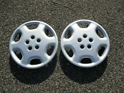 Genuine 1992 To 1993 Toyota Celica 15 Inch Hubcaps Wheel Covers