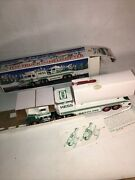 Vintage Hess Toy Truck And Helicopter - New In Box 1995 Ships Fast