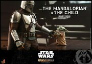 Hot Toys 16 Tms015 Star Wars The Mandalorian And The Child Deluxe Version Set Toy