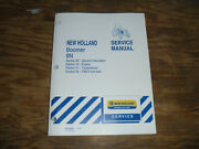 New Holland Boomer 8n Tractor Engine Transmission Fwd Shop Service Repair Manual