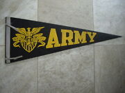 Army College Pennant 30 Complete West Point Excellent To Mint
