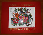 Henning Jorgensen The Royal Tribute Japanese Traditional Style Tattoo Flash Book