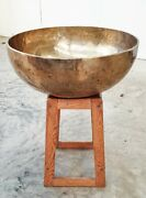 Absolutely Stunning Really Large Singing Bowl 22kg 67cm G Note Super Sound