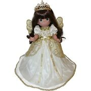 Precious Moments Doll Tree Topper - Praise To The Newborn King - Brunette