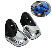 Motorcycle Landr Gloss Chrome Rear View Side Mirrors For Bmw K1200lt Sport Abs Usa