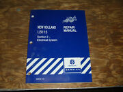 New Holland Lb115 Loader Backhoe Electrical Wiring Diagrams Manual