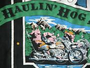 Vtg Motorcycle Haulinand039 Hog Ale Dudley Perkins Frisco Ca T Shirt M