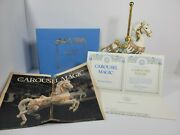 Carousel Magic Collectible Horse Lynn Lupetti Vintage 1987 Authentic