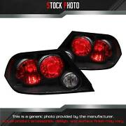 Anzo Black/red Euro Tail Lights For 2002-2003 Lancer Es / Ls / Oz Rally 221086