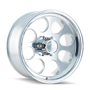 17x9 Ion 171 Polished Wheels Rims Tires Package 33 Mt 6x139.7 Chevy Tahoe