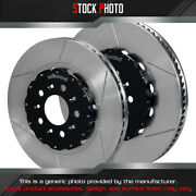 Wilwood Gt Slotted Vented 2-piece F And R Brake Rotors For 05-13 Aston Martin Db-9