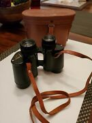 Vintage Imperial Binoculars Japan 8x30 With Leather Carry Case