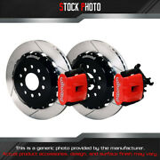 Wilwood Combination Parking Slotted Rotor Rear Brake Kit For 00 S2000