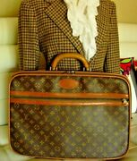 Rare Vintage Louis Vuitton Suitcase Brief Case Keepall Carry On Tote Luggage Lv