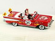 The Danbury Mint Betty Boop Hot Rod Bettys 57 Chevy Bel Air With Figurines
