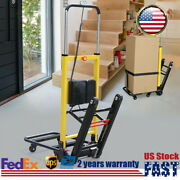 Electric Stair Climbing Hand Truck Climber Moving Dolly Warehouse Cart Folding