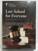 Great Courses Dvd Law School For Everyone By Cheng Hoffman Shadel Smith