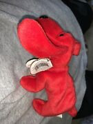 Rare Retired 1996 Ty Beanie Baby Rover W/pvc Pellets And Collectible Errors Euc