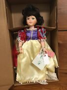 """Snow White Vintage Robin Woods A Playmate Today A Treausre Tomorrow 16"""" Doll Nib"""