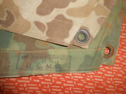 U.s.army Wwii Marine Corps Poncho Issue Pacific 1945 Wwii