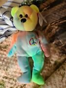 Ty Beanie Babies Peace Bear Original 1996 Tag Errors Rare And Collectible