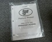Tye 104-4208 Pasture Pleaser No-till Drill Final Setup And Owner Operator Manual