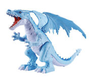 Robo Alive Roaring Ice Dragon Battery Powered Robotic Toy By Zuru Life-like Pets